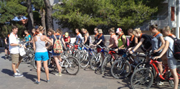 guided bicycle excursions, bike tours